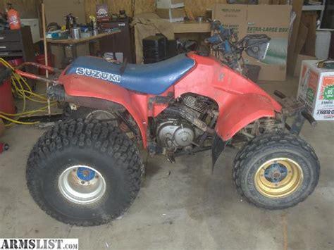 Suzuki 230 Quadsport Parts Armslist For Sale Trade 1987 Suzuki Lt230eh Quadsport