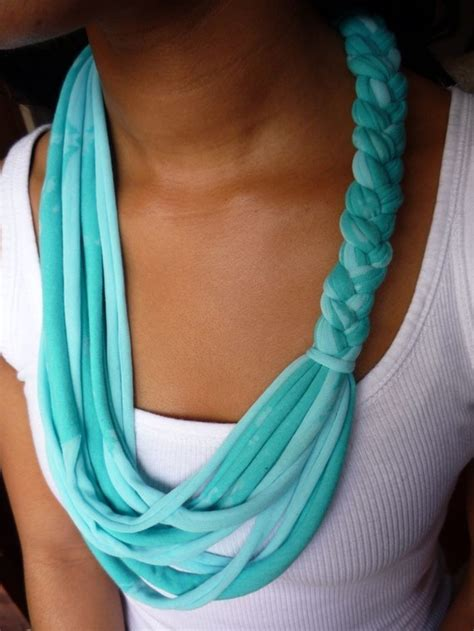 pattern for t shirt necklace diy pretty things to make out of old t shirts
