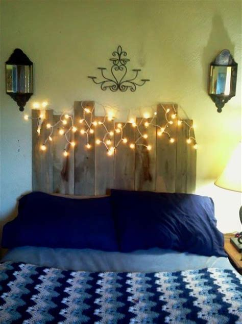diy headboard with lights diy pallet headboard with lights 99 pallets