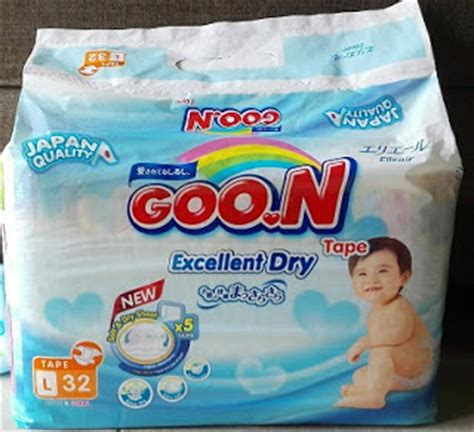 Goon Diapers L34 mytownpharmacy disposable diapers review malaysia mamypoko goo n huggies pet pet