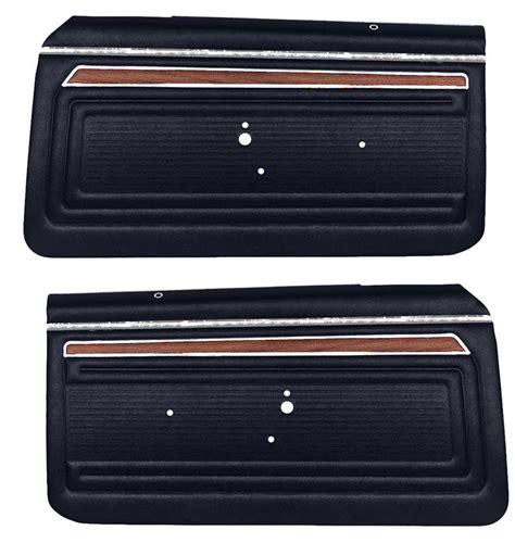 Door Panels by 1972 Chevrolet Parts Interior Soft Goods Door