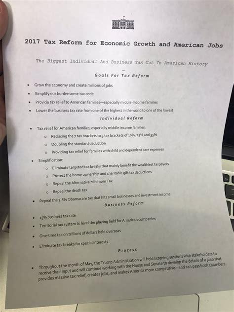 trump tax reform trump s tax plan donald trump s bullshit