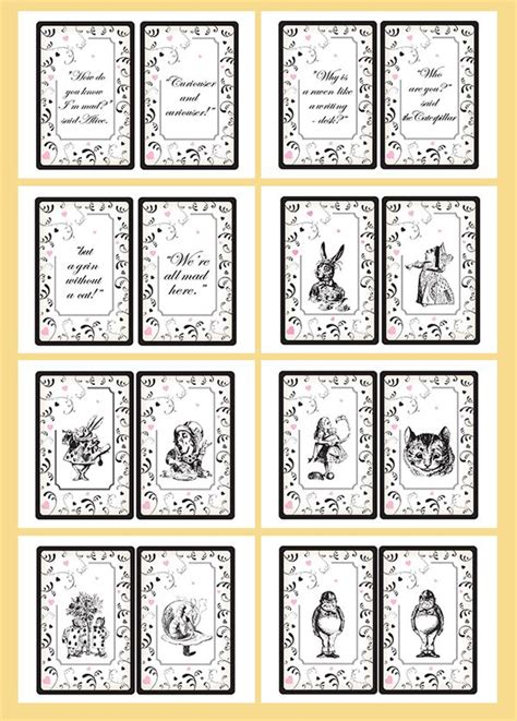 printable pictures alice in wonderland printable alice in wonderland quotes quotesgram