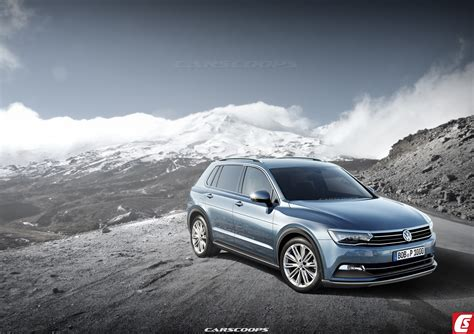 volkswagen models 2016 future cars vw sends all new 2016 tiguan suv to the gym
