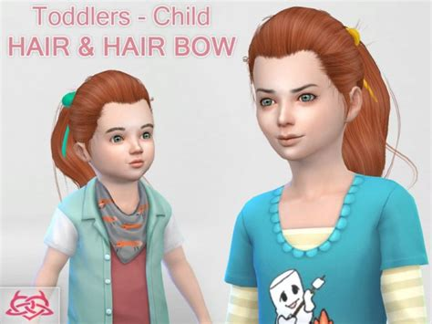 the sims resource sims 4 kids hair sims 4 hairs the sims resource child and toddler hair