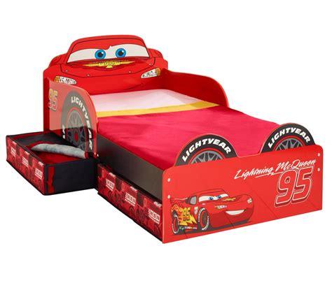 camas infantiles cama cars disney de madera con cajones