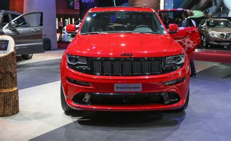 jeep srt 2015 red vapor 2015 jeep grand cherokee srt gets more power more quiet