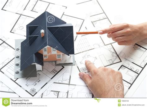 house planning stock photo image of build construction