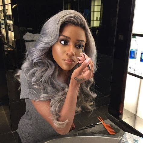 grey hair weaves for african american women 259 best older african american women hairstyles images on
