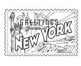 ny color new york coloring pages