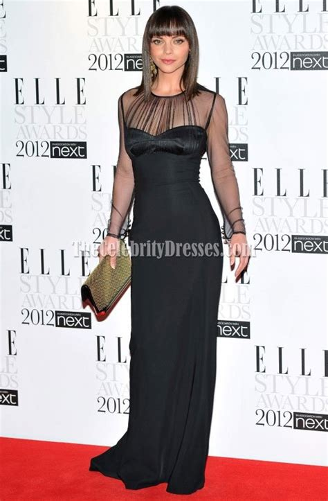 Goes For Black Accessories The Awards by Ricci Black Prom Dress Evening Dresses 2012
