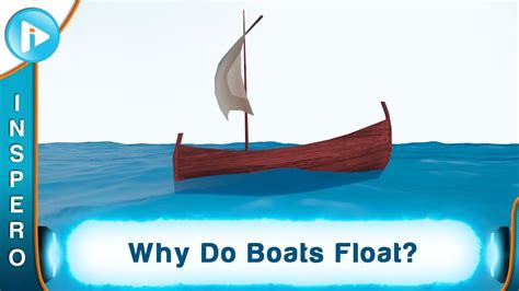 how to make a boat not sink why do boats float youtube
