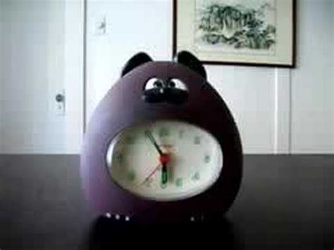 ohayo japanese cat alarm clock
