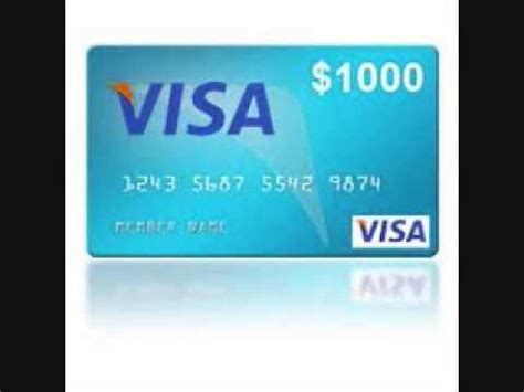 Get A Free 1000 Visa Gift Card - get the free 1000 visa gift card youtube