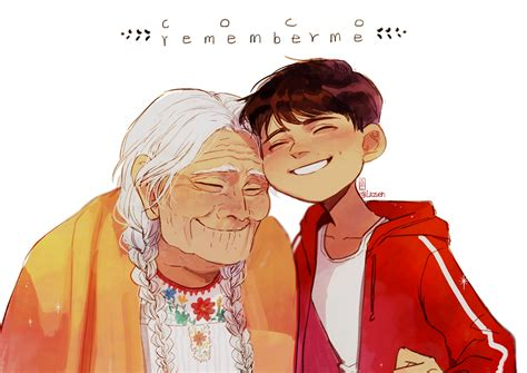 film coco ada elsa miguel rivera and his great grandmother mama coco from