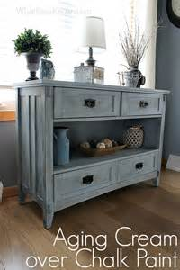Refurbishing Kitchen Cabinets Yourself aging cream finish over chalk paint what rose knows