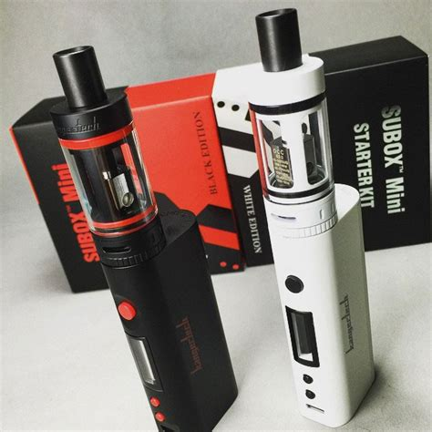 New Vape N Vaporizer Kangertech Subox Mini Starter Kit Vapor Vape 1 kanger subox mini starter kit vape smart