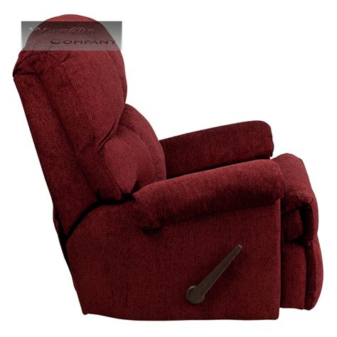 red lazy boy recliner red burgundy fabric rocker recliner lazy chair furniture