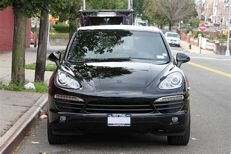 porsche cayenne blacked out belated pix of blacked out 11 cayenne s rennlist