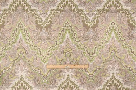 waverly drapery fabric 4 1 yards waverly paisley verse printed cotton drapery
