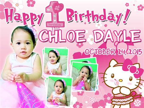Hello Kitty Themes For Tarpaulin | birthday tarpaulin hello kitty theme von designs
