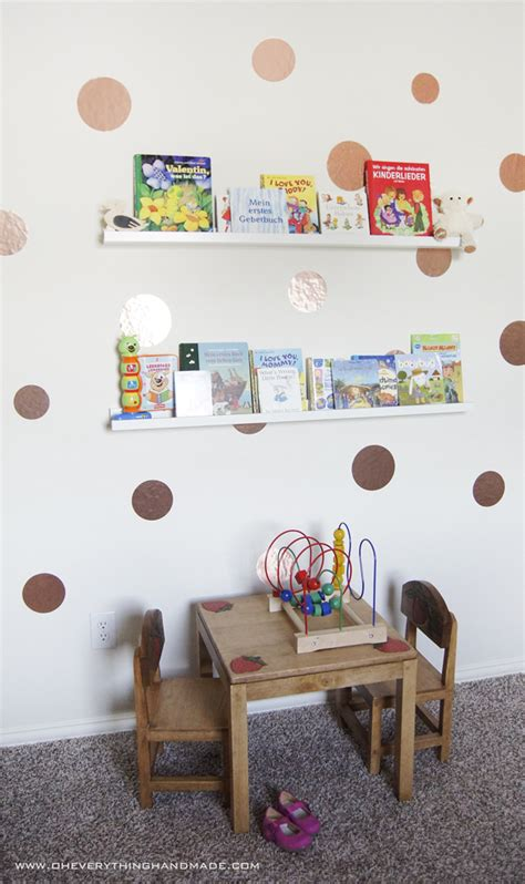 kid room wall decor diy room wall decor and book storage