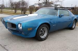 1970 Pontiac Trans Am 1970 Pontiac Trans Am Lucerne Blue Ram Air Iii 4 Spd