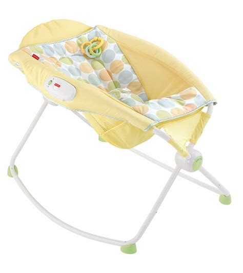 Fisher Price Rock And Sleeper by Fisher Price Newborn Rock N Play Sleeper Yellow Dots
