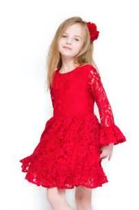 Children girl christmas dress 2017 red kids preteen clothing dresses