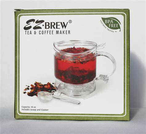 Coffee And Tea Maker ez brew tea and coffee maker