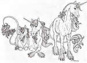 Galerry coloring pages printable unicorn