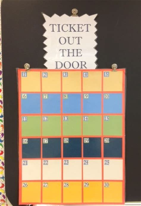 Ticket In The Door middle school math moments and more working on the classroom