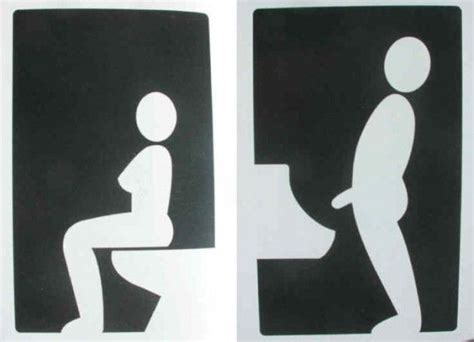 men and women bathroom symbols 114 best images about toilet notices on pinterest