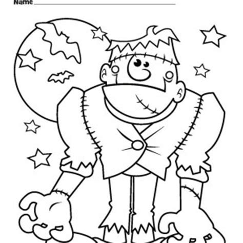 printable coloring pages halloween monsters cute halloween monsters coloring pages festival collections