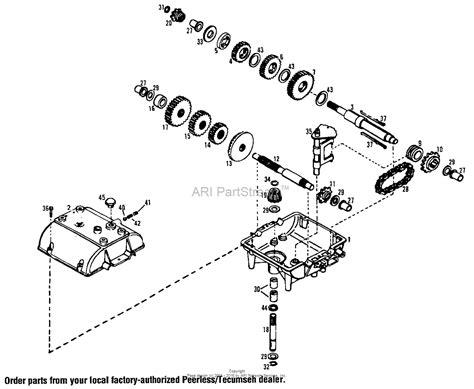 transmission parts diagram peerless 700 transmission parts breakdown images