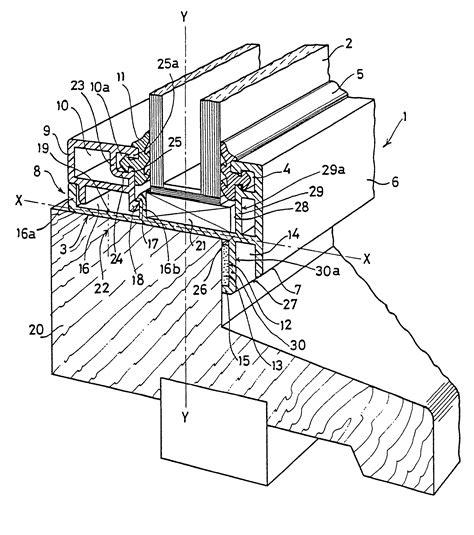 wood frame sections patent ep0053862b1 a plastics glazing profile destined