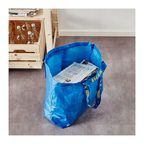 hay ikea bag frakta carrier bag medium blue 36 l ikea