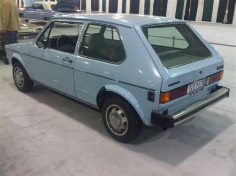 Rabbit Volkswagen For Sale by 9k Mile 1981 Volkswagen Rabbit L For Sale German Cars