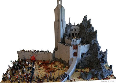 Coolest Chess Sets Epic Lego Lord Of The Rings Helm S Deep Set Geektyrant