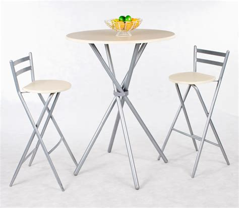 Folding Dining Table Set 3pcs Quality Wooden Folding Table Set Durable Steel Frame Folding Dining Table Set In Folding