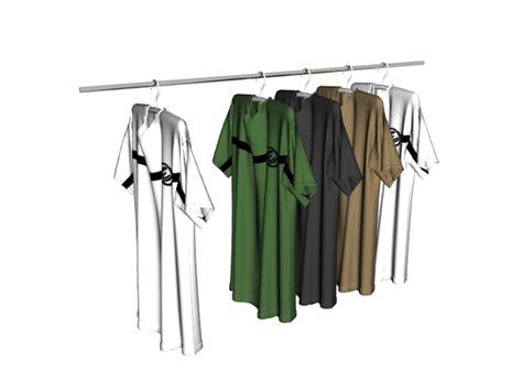 Hanger Zara Dewasa Model Polos t shirts on clothes rack 3d model 3ds max files free modeling 21558 on cadnav