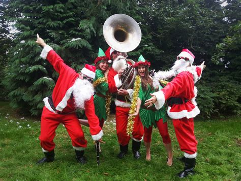 christmas jazz band the silk street santas silk