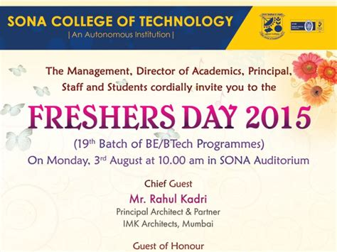 Freshers Invitation Card Templates by Freshers Invitation Cards 7 Images Onpc Templates