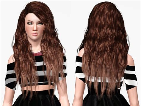 sims 3 hair cc stealthic sleepwalking hairstyle retextured by chantel