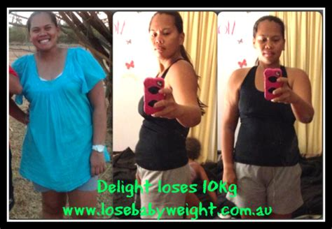 weight loss 10 kg lose baby weigt delight loses 10kg