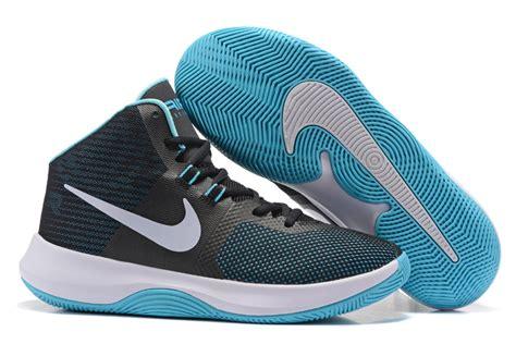 Sepatu Basket Nike Air Precision Blue Original 898455 400 white green nike air precision 2017 mens