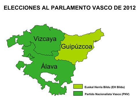 capital pais vasco elecciones al parlamento vasco de 2012 la