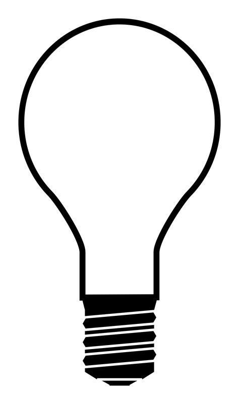 Light Bulb Outline Png by Light Bulb Lightbulb Clipart Clipartwiz Clipartix