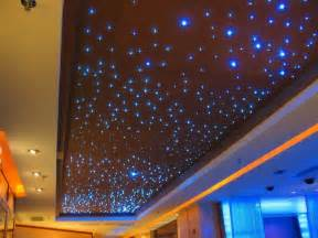 5w 6 colors sparkle color changing fiber optic ceiling