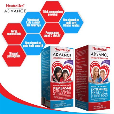 Lotion Anti Kutu Rambut Neutralice Advance Lotion 475ml jual neutralice advance lotion 475ml untuk basmi telur kutu rambut di lapak syaiful shop asyaiful01